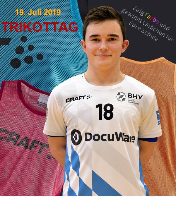 competitive price 65ba4 8e197 Bayerischer Handball-Verband - Alle rein ins Trikot!
